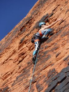 Climbing at Red Rock Canyon