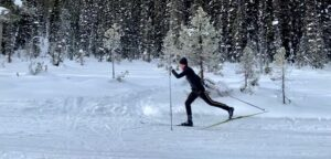 Matt Wylie skiing heading image